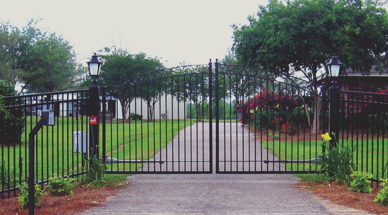 You can get an aluminum or steel fence with the look of wrought iron by installing an ornamental fence. These fences are high quality and a great for security while also increasing the value of your property.