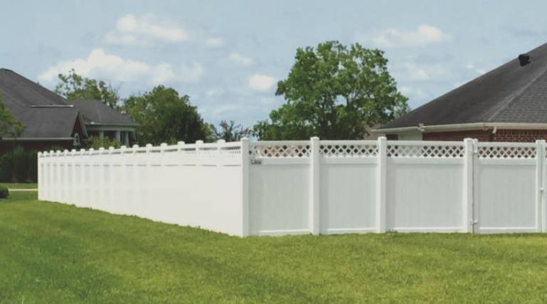 Vinyl is a great choice if you are looking to add privacy and security to your property and not have to worry about any maintenance either. Vinyl looks great, comes in lots of different colors, and its very strong and durable.