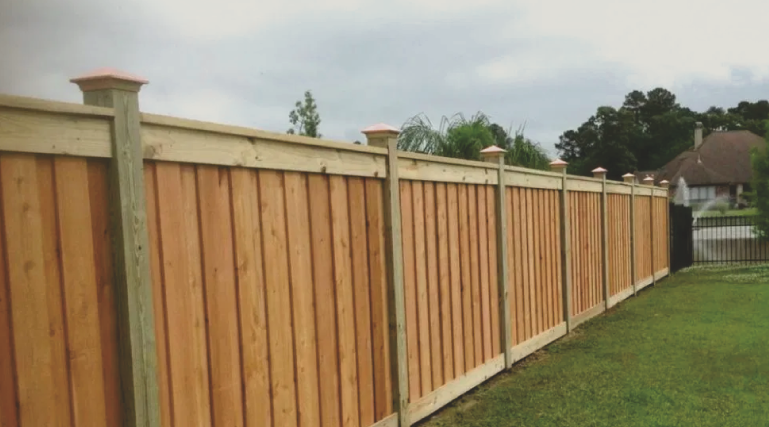 If you want a fence that is timeless and highly customizable, get a wood fence. Wood fences provide lots of privacy, security, and adds lots of value to any property. You can paint, stain, or get any kind of look for any taste in a wood fence.